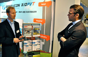 Prince Daniel was interested in concentrated solar energy