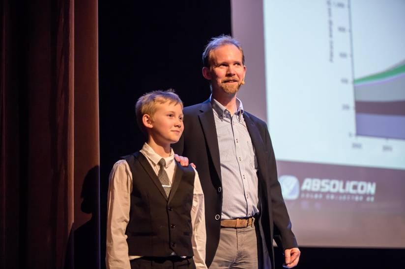 Joakim Byström och Dag Byström illustrerar 35 års tidsspann
