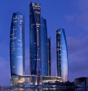 Konferenshotellet Jumeirah at Etihad Towers