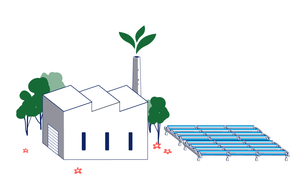 Solar-collector-green-industry